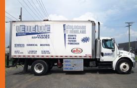 Camion dégel
